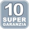 10 anni di garanzia
